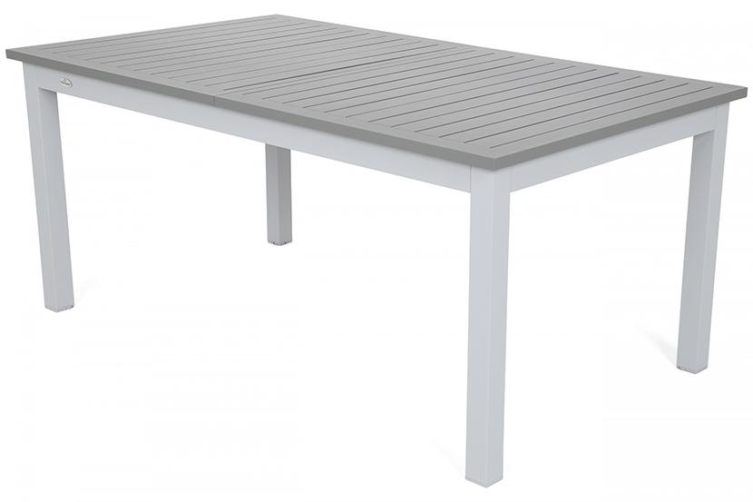 Meble ogrodowe aluminiowe Trani Light Grey / Medium Grey 10+1