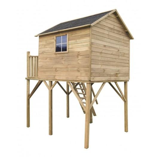 Drewniany domek ogrodowy dla dzieci - Jacek max