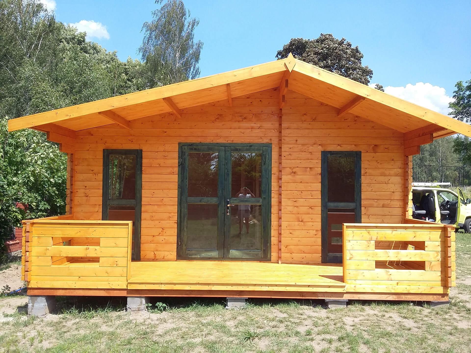 Drewniany domek letniskowy Marsylia