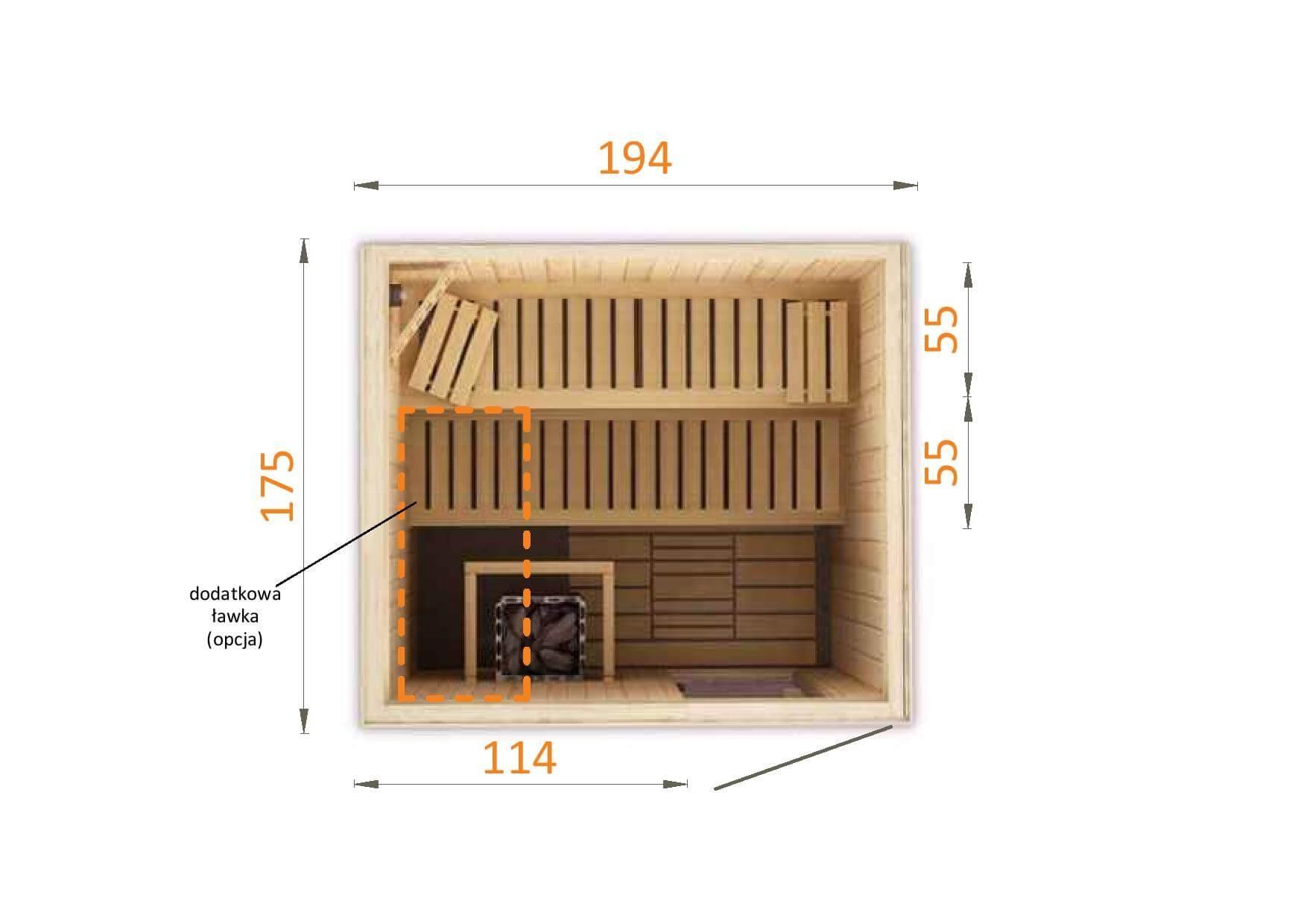 Sauna fińska 2018W0