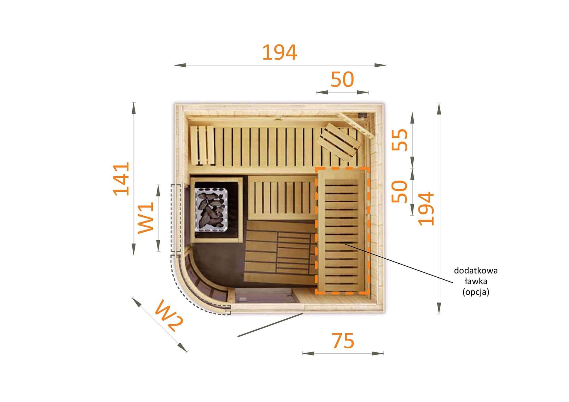 Sauna fińska 2020RW2