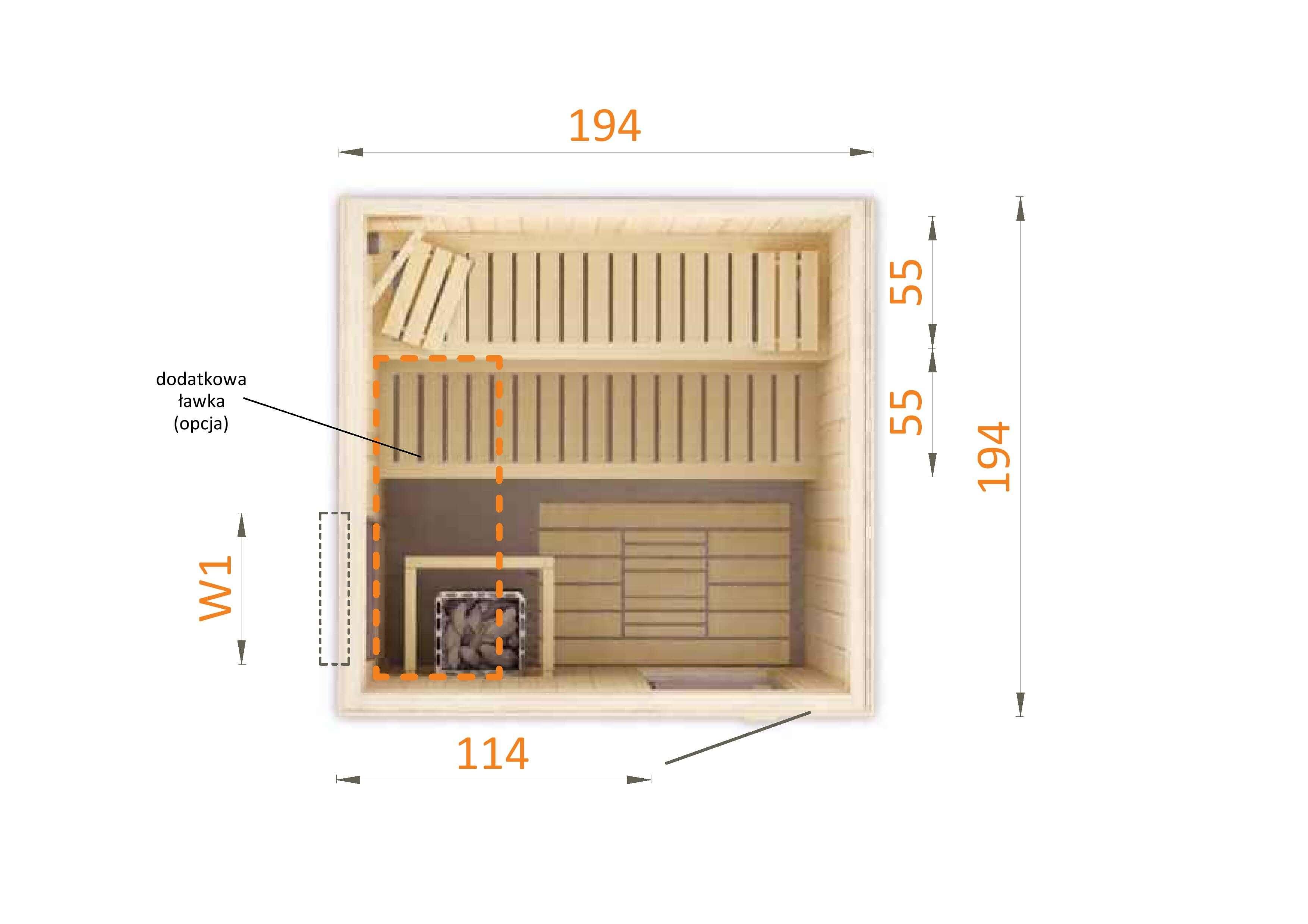 Sauna fińska 2020W1