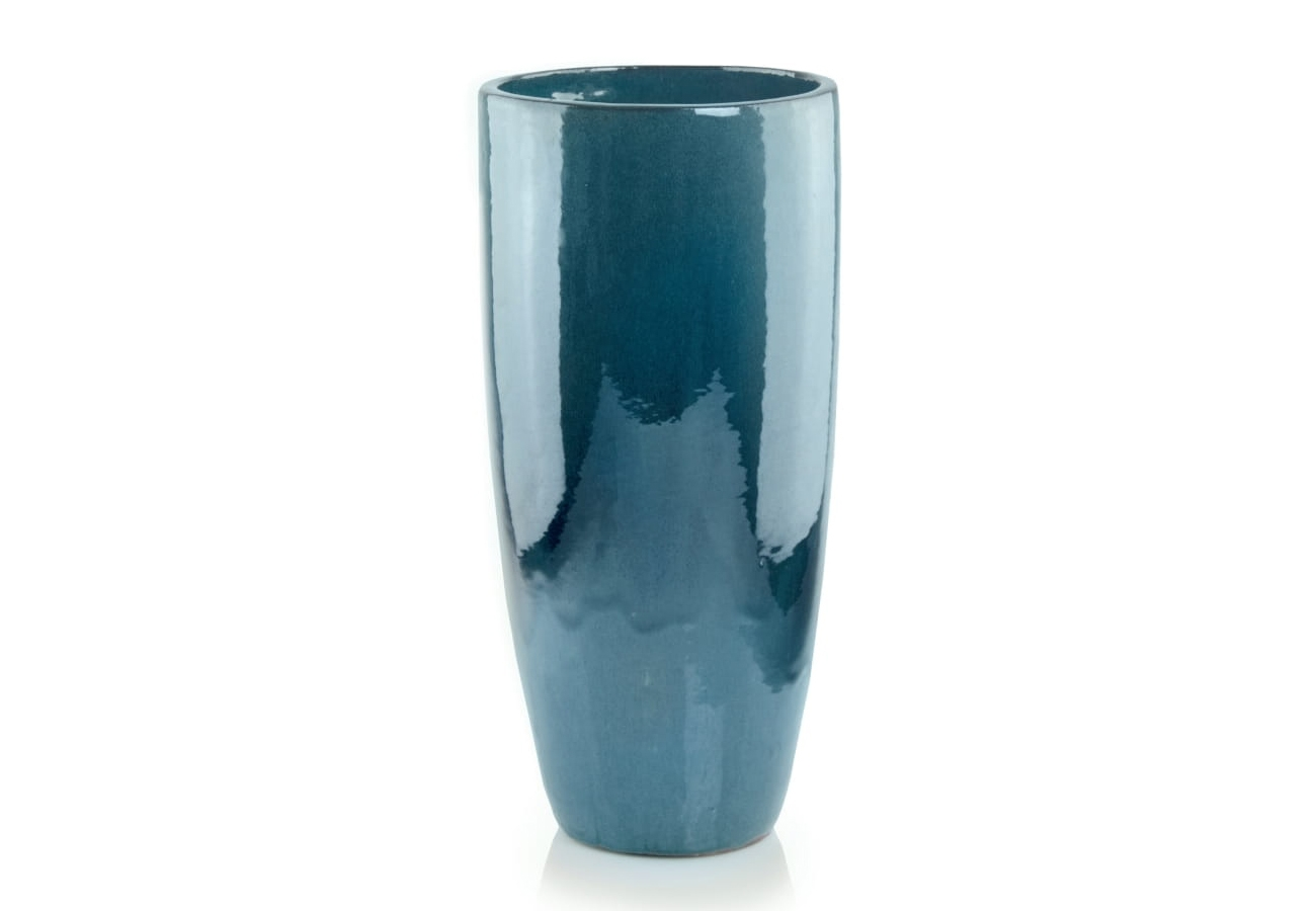 Donica ceramiczna   Glazed Cygaro 31x70 cm