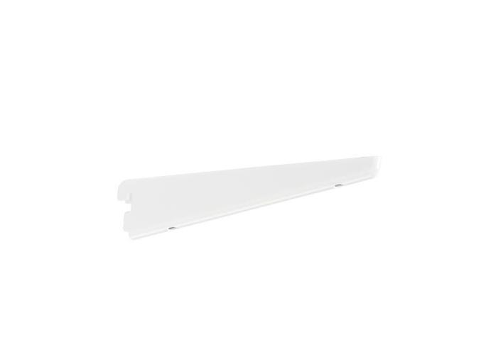 Wspornik półek obcych, kolor biały - 49x13x220 mm Elfa