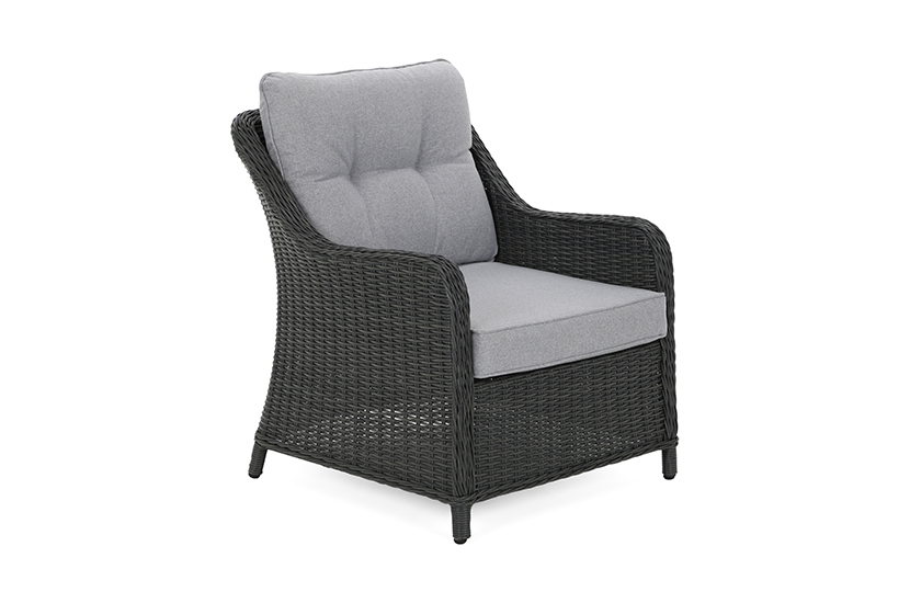 Narożne meble ogrodowe technorattanowe Windsor Grey / Light Grey