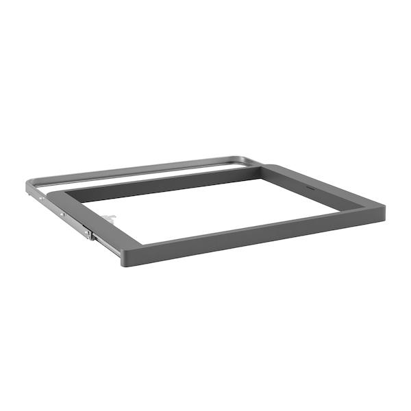 Rama kosza Elfa 60 platinum - 32x437x600 mm