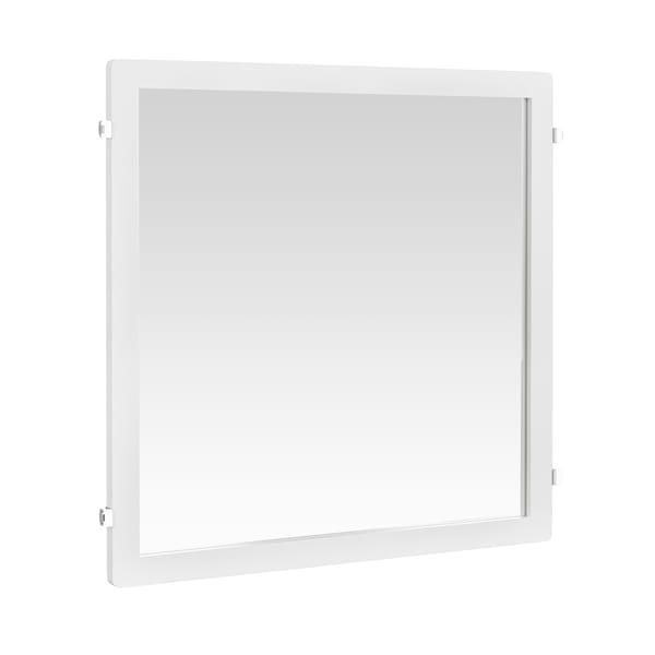 Lustro Décor | Biały 598x25x635 mm