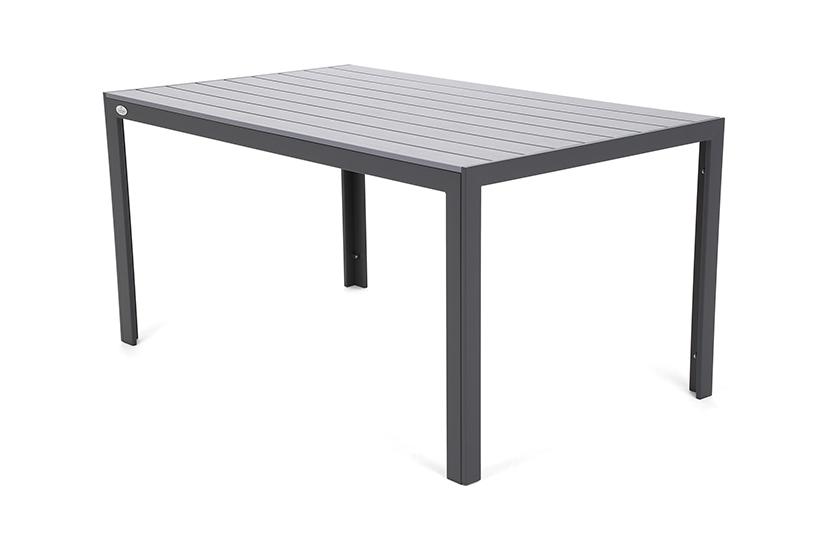 Meble ogrodowe aluminiowe Safari Window Grey 6+1