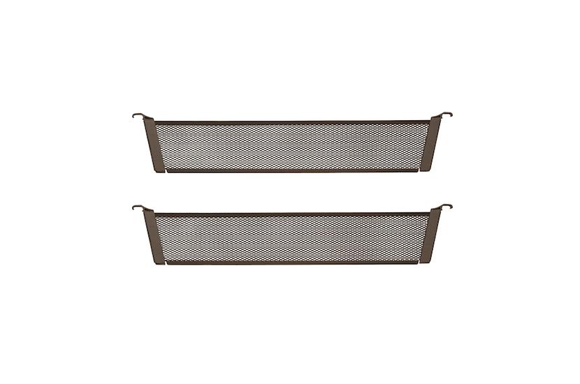 Przegroda kosza mesh grafit 10x431x80 mm