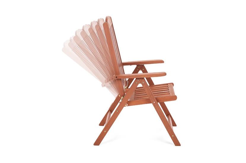 Krzesło ogrodowe drewniane Meranti