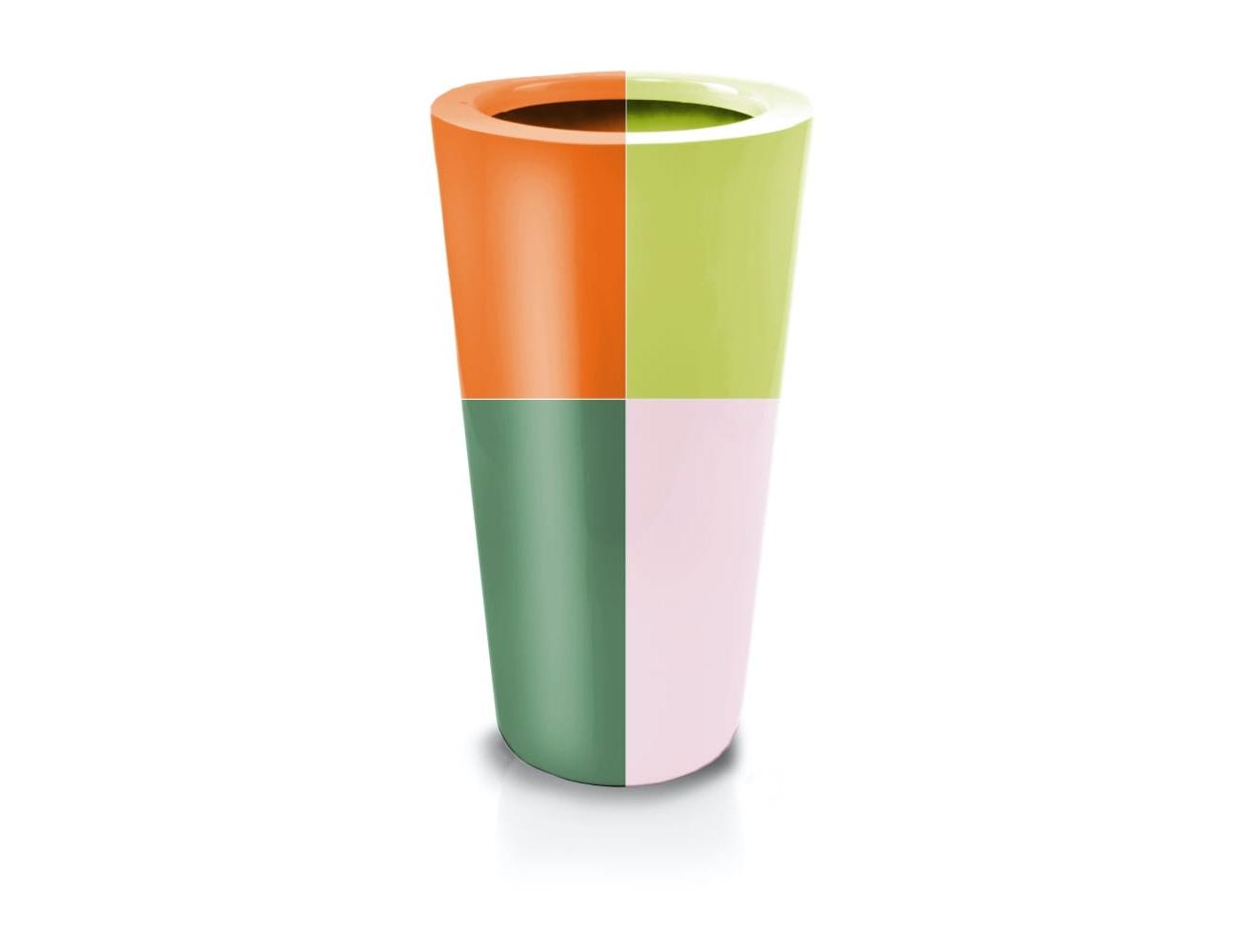 Donica Fiberglass Cone 92x44 cm kolor na zamówienie
