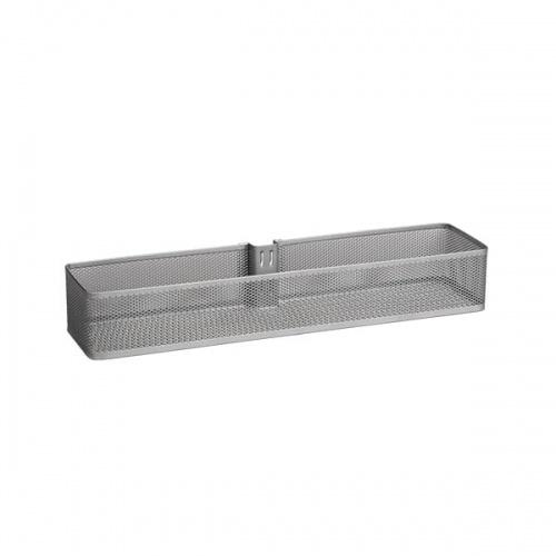 Kosz Mesh średni na szynę pionową | Platinum 74x106x435  mm