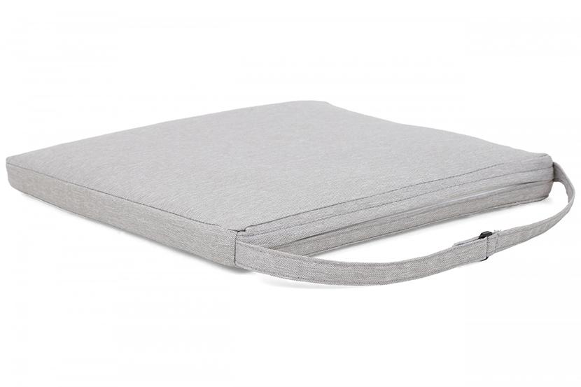 Meble ogrodowe technorattanowe Mori Basic Grey 6+1 z poduszkami