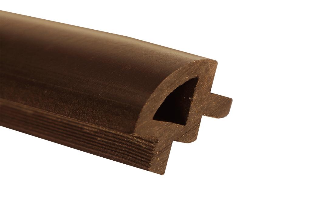 Ćwierćwałek WPC - jasny brąz(24x34x2400)