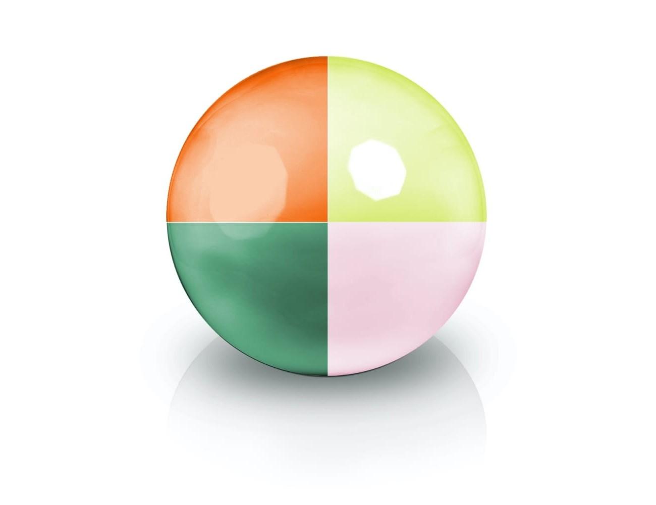 Ekskluzywna kula dekoracyjna 60x60 cm kolor na zamówienie
