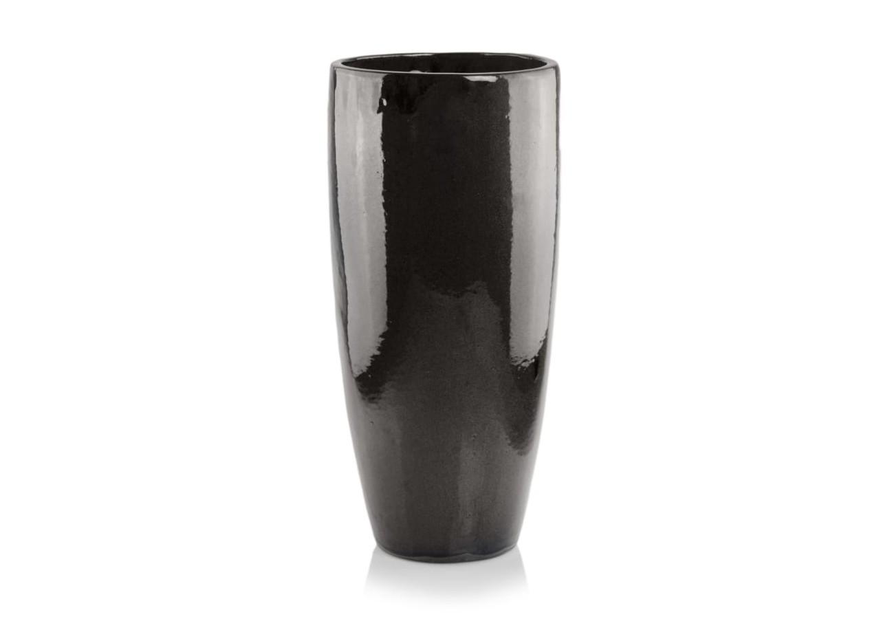 Donica ceramiczna | Glazed Cygaro 38x80 cm