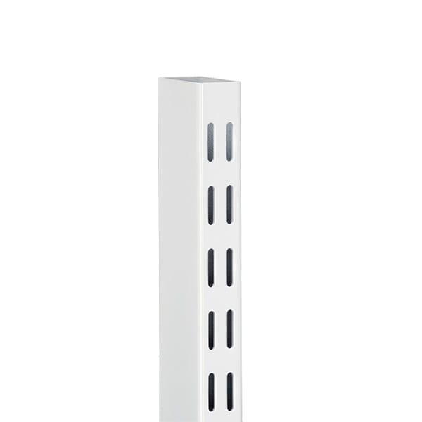 Szyna pionowa wolnostojąca | Biały 25x50x2124 mm