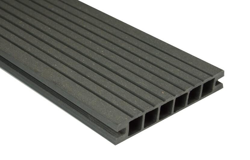 Deska DeLux - szlifowana – grafit – 2400x160x28 mm