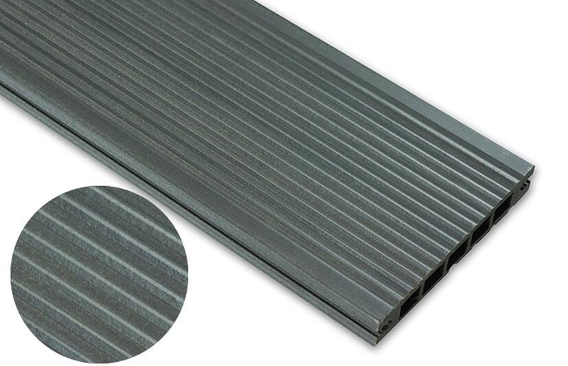Deska standard – grafit – wąski rozstaw 2400x140x22 mm