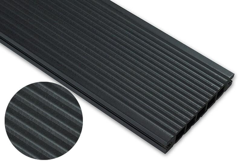 Deska standard – antracyt – wąski rozstaw  3600x145x24 mm