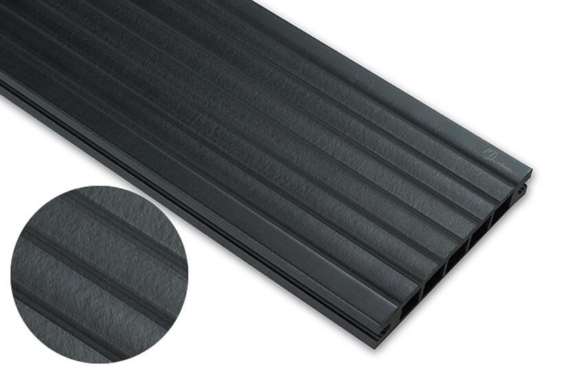 Deska standard – antracyt – szeroki rozstaw 2400x145x24 mm