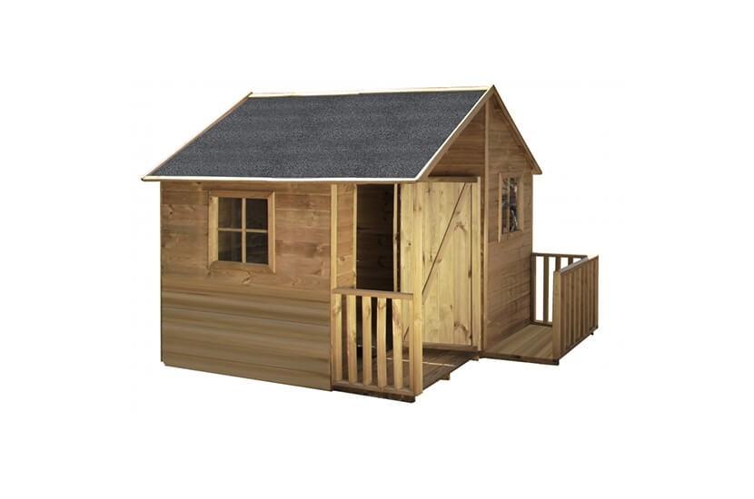 Drewniany domek ogrodowy dla dzieci - Michałek