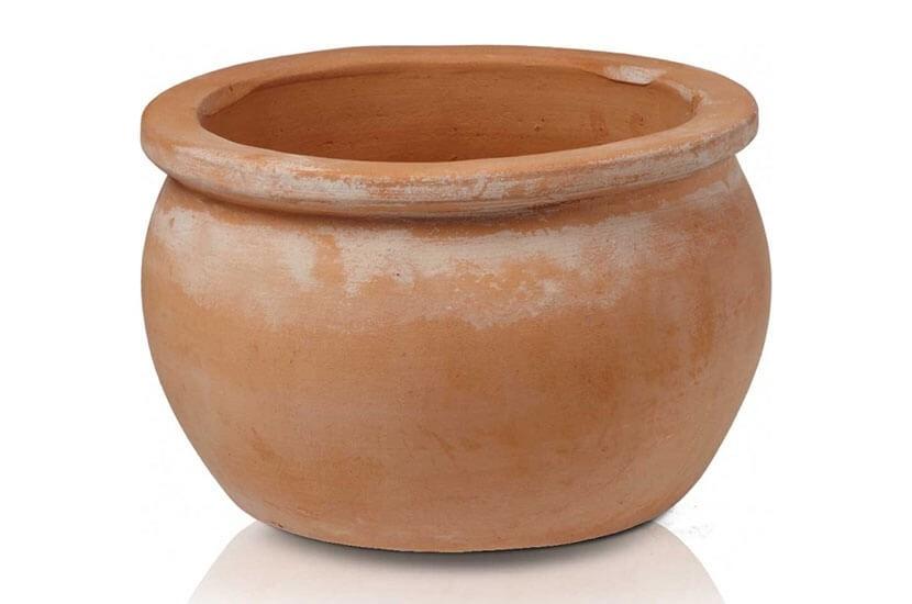 Donica ceramiczna Tus Round-pot 380 x 250mm