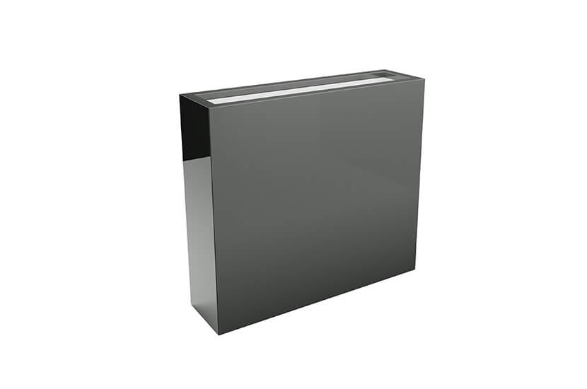 Donica mrozoodporna Fiberglass 55x28x75 cm