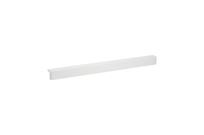 Nakładka półki ażurowej, kolor biały - 32x34x451 mm Elfa