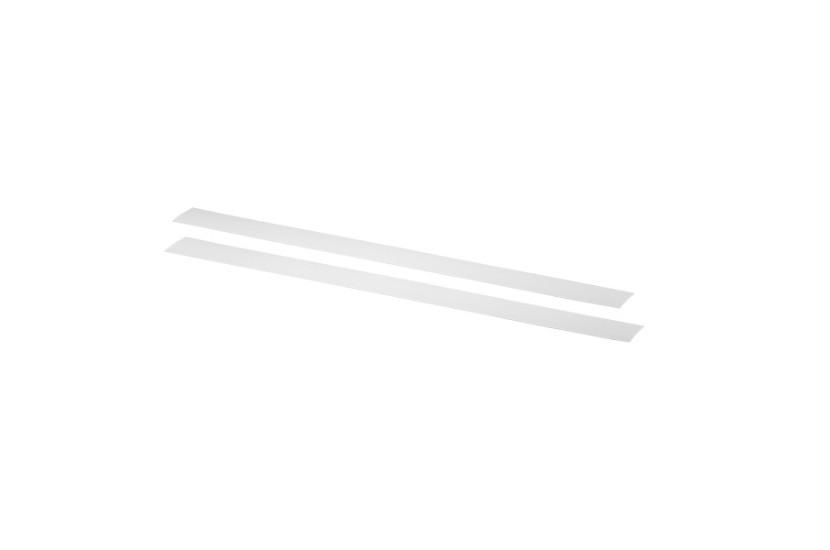 Maskownica szyny poziomej biały 50x2x425 mm
