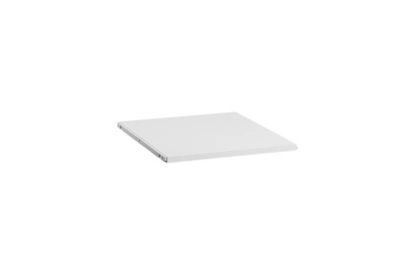 Półka melaminowa 50 kolor biały - 20x503x605 mm Elfa