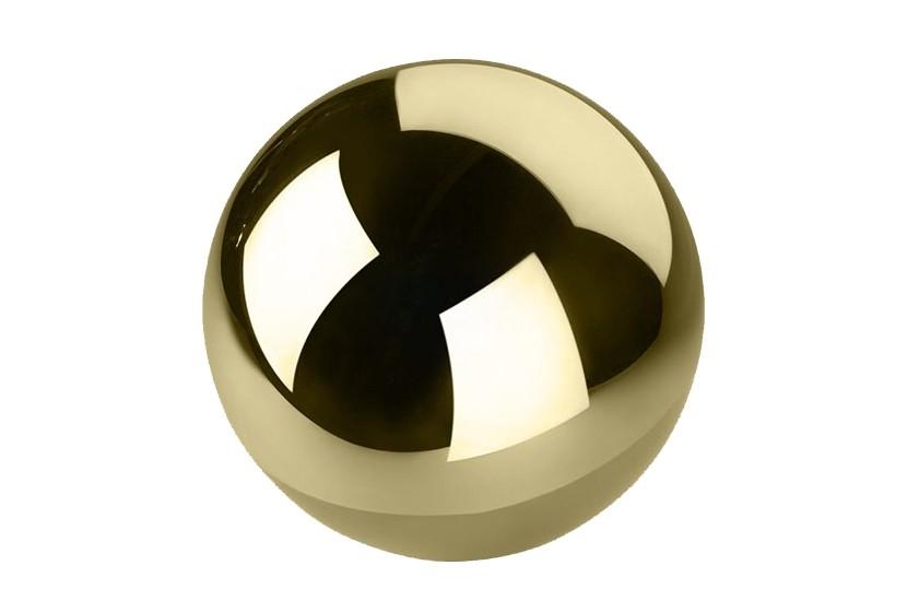 Kula dekoracyjna Gold średnica 20 cm - 4 sztuki