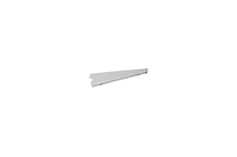Wspornik półek obcych, kolor platinum - 49x13x220 mm Elfa