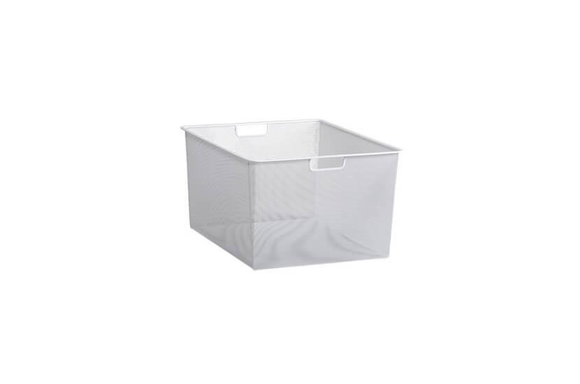Kosz siatkowy Elfa Mesh 45 biały - 285x427x527 mm