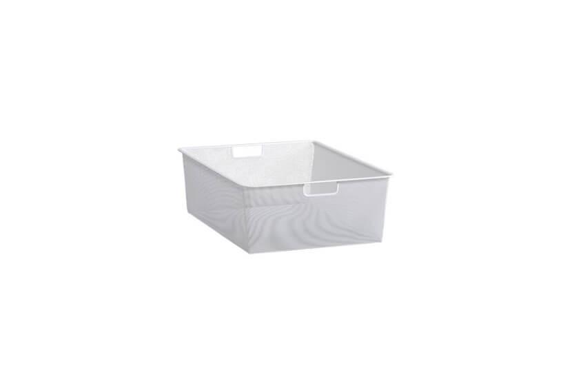 Kosz siatkowy Elfa  Mesh 45 biały - 185x427x527 mm