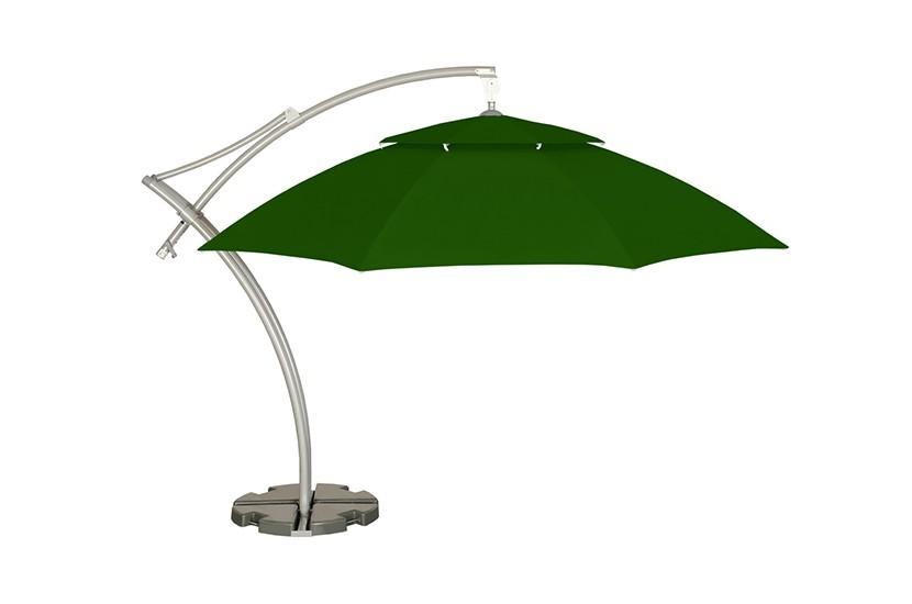 Parasol ogrodowy Safari  420 cm zielony
