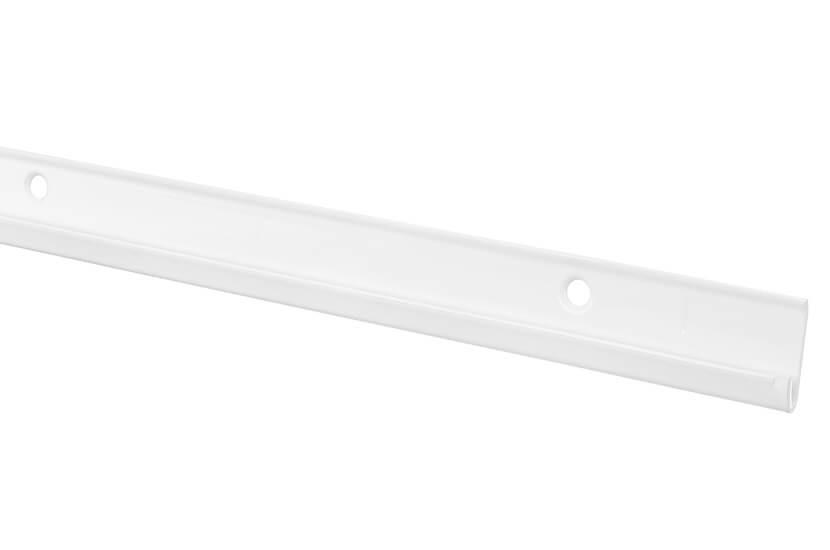 Szyna pozioma BL biały 47x10x1253 mm