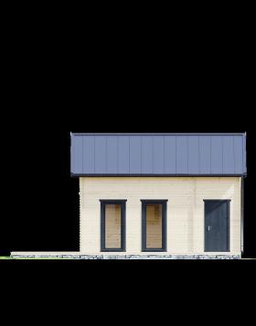 Drewniany domek letniskowy Atalanta III