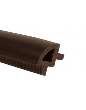 Ćwierćwałek WPC - ciemny brąz(24x34x2200)