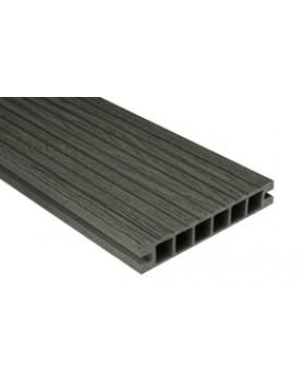 Deska DeLux – szlifowana-deseniowana –grafit – 2400x160x28 mm