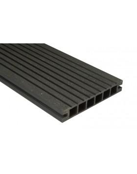 Deska DeLux - szlifowana – antracyt – 2400x160x28 mm