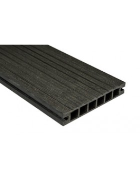 Deska Tarasowa DeLux – szczotkowana – antracyt – 2400x160x28 mm