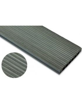 Deska szczotkowana – grafit – wąski rozstaw  2400x140x22 mm