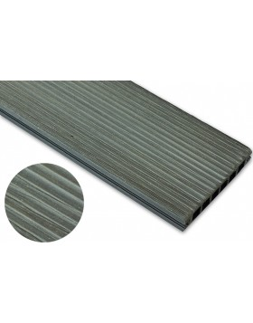 Deska szczotkowana – grafit – wąski rozstaw  3200x140x22 mm