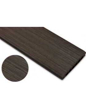 Deska szczotkowana – ciemny brąz – szeroki rozstaw 3200mm x 140mm x 22mm