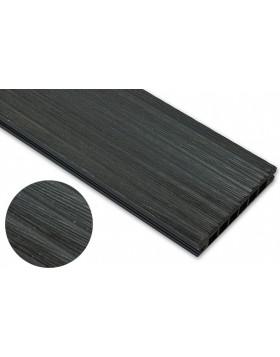 Deska szczotkowana – antracyt – szeroki rozstaw 2400x140x22 mm
