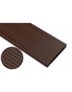 Deska szczotkowana – jasny brąz – szeroki rozstaw 3200x145x24 mm