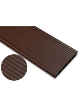 Deska szczotkowana – jasny brąz – szeroki rozstaw 3200x140x22 mm
