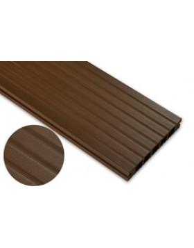 Deska standard – dąb brąz – szeroki rozstaw 2400x145x24 mm