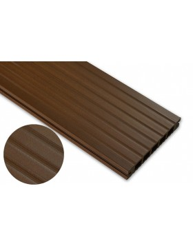 Deska standard – dąb brąz – szeroki rozstaw 3200x145x24 mm